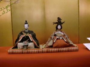 篠山城大書院のひな人形展示写真